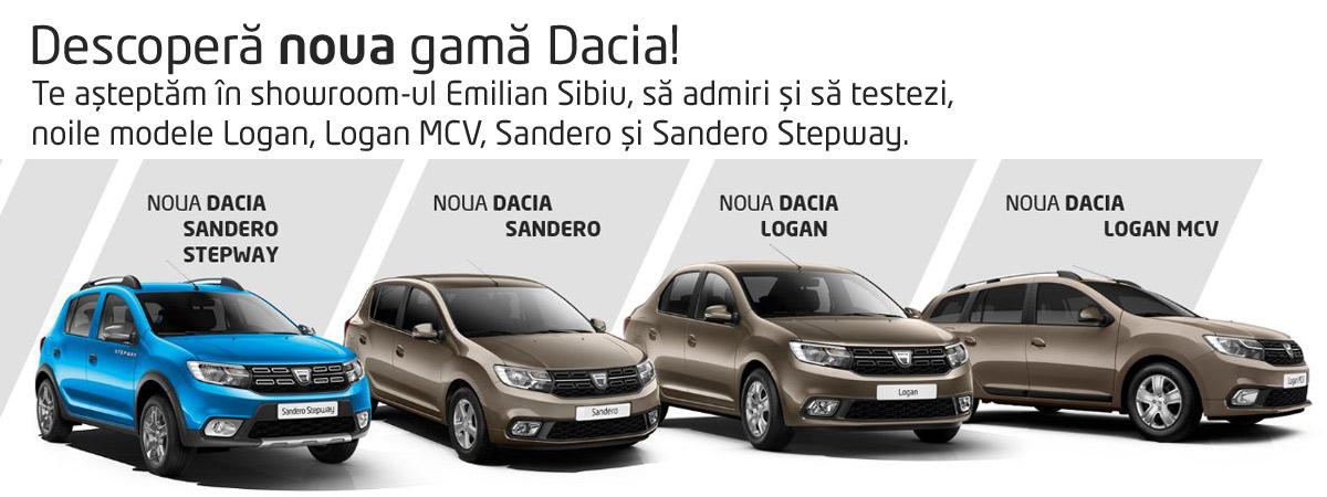 Noile Modele Dacia